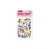 Einhörner Glitter Sticker
