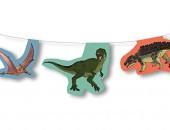 Wimpelkette Dinos und T-Rex
