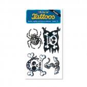 Totenkopf Tattoos von Lutz Mauder