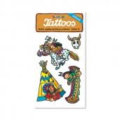 Indianer II Tattoos von Lutz Mauder