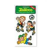 Fussball 2 Tattoos von Lutz Mauder