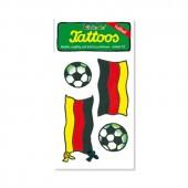 Fussball 3 Deutschland Tattoos von Lutz Mauder