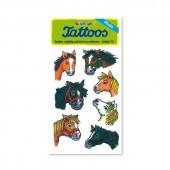 Pferdeköpfe 2 Tattoos von Lutz Mauder