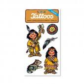 Indianer 3 Tattoos von Lutz Mauder