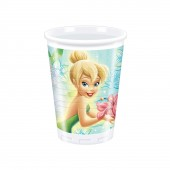 "8 Becher ""Tinkerbell Flowers"""