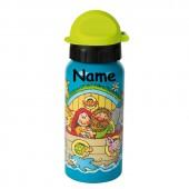 Trinkflasche Arche Noah - Mit Wunschname