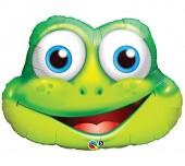 XXL-Folienballon Komischer Frosch