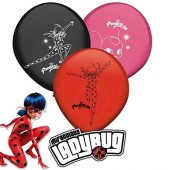 8 Luftballons Ladybug