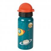Trinkflasche Rakete - Ohne Wunschname