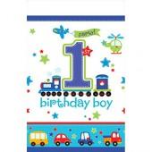 Tischdecke 1. Birthday - Boy