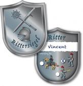 6 Ritter-Ausweise Ritter & Drache