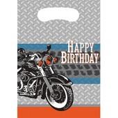 8 Partytüten Motorrad
