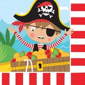 16 Servietten Little Pirates II