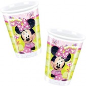8 Becher Minnie Mouse