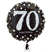 Folienballon Happy Birthday - 70. Geburtstag