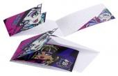 6 Einladungen Monster High II