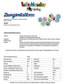 Zungentattoo - 10 verschiedene Motive von Lutz Mauder