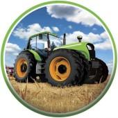 Tortenaufleger Traktor für Kindergeburtstag
