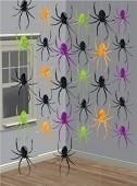 6 Deko-Schnüre Spinnen
