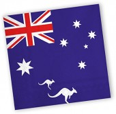 20 Servietten Australien