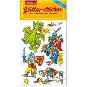 Ritter II Glitter Sticker