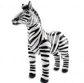 Aufblasbares XXL-Zebra