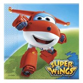 20 Servietten Super Wings