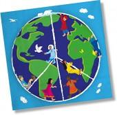 20 Servietten Kinder dieser Welt