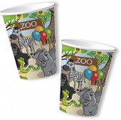 8 Becher Zoo & Zootiere