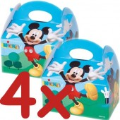 4 Geschenkboxen Mickey Mouse Clubhouse