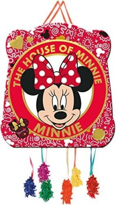 Pinata Minnie Maus im Set