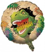 Folienballon Dinosaurier - Ohne Helium