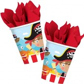 8 Becher Little Pirates II