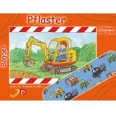 """10 Pflaster """"Bagger"""" für Kinder"""