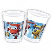 8 Becher Super Wings