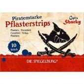 """10 Pflaster """"Capt'n Sharky"""" für Kinder"""
