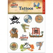12 Tattoos Capt'n Sharky - Wikinger