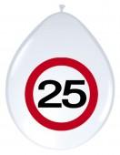 8 Luftballons 25. Geburtstag