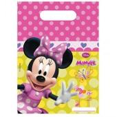 6 Partytüten Minnie Mouse