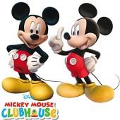 2 Figuren Mickey Mouse