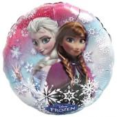Folienballon Frozen - Happy Birthday! - Ohne Helium