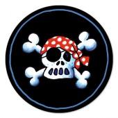 Tortenaufleger Jolly Roger für Kindergeburtstag