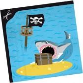 20 Servietten Piraten