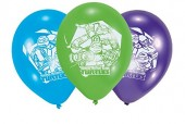 6 Luftballons Teenage Mutant Ninja Turtles