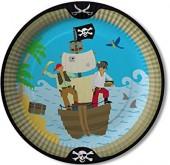 8 Teller Piraten