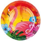 8 Teller Flamingo