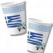 10 Becher Griechenland
