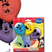 8 Luftballons Mickey Mouse