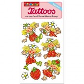 Erdbeermädchen Tattoos