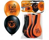 10 Luftballons Halloween